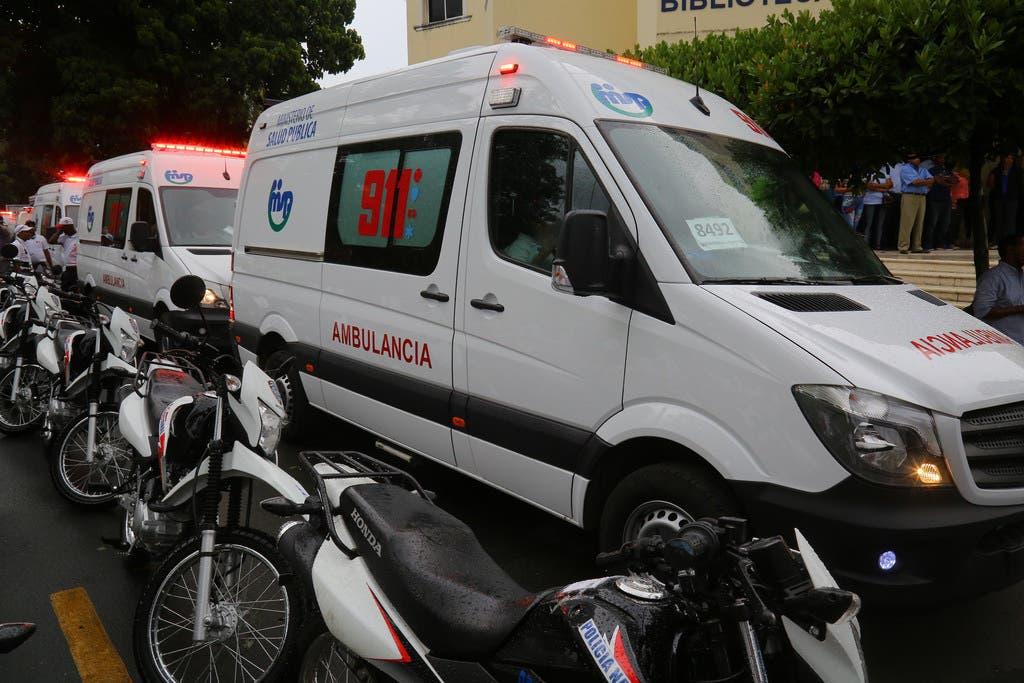 Danilo Medina inaugura Sistema 911 en Monseñor Nouel, Villa Altagracia y otros puntos