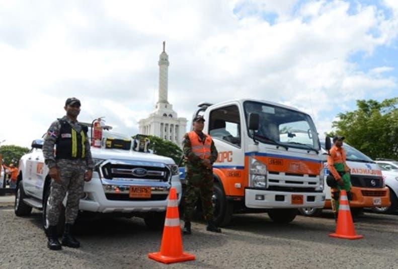 Parte de las brigadas que trabajará en la seguridad vial.