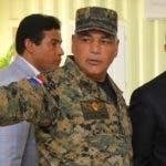 Rubén Paulino Sem ofrece explicaciones al presidente Medina de vigilancia en la frontera.