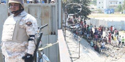 El Ministerio de Defensa ordenó reforzar seguridad en la zona, tras conflictos. Alberto Calvo