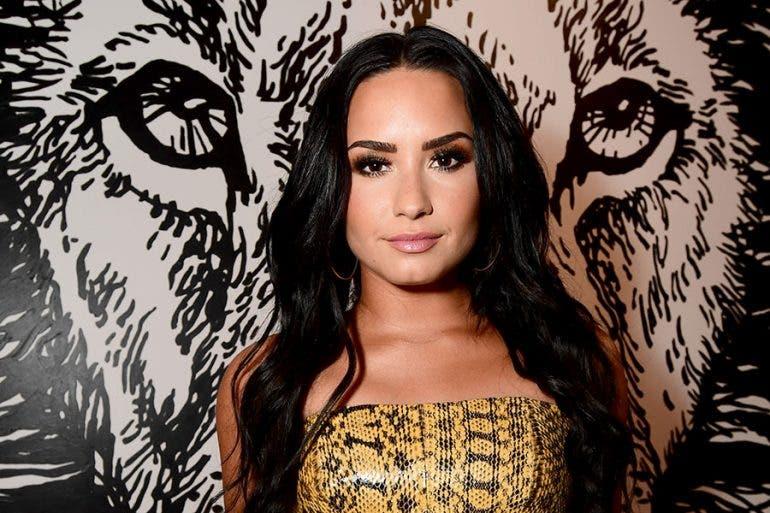 Cantante estadounidense Demi Lovato.