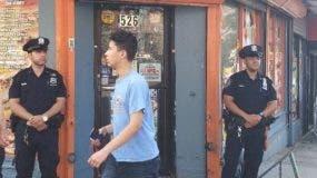 Bodega asesinaron dominicano en El Bronx reabre bajo vigilancia policial.