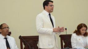 David Collado pidió el apoyo de la ciudadanía en su afán de rescatar los espacios públicos.