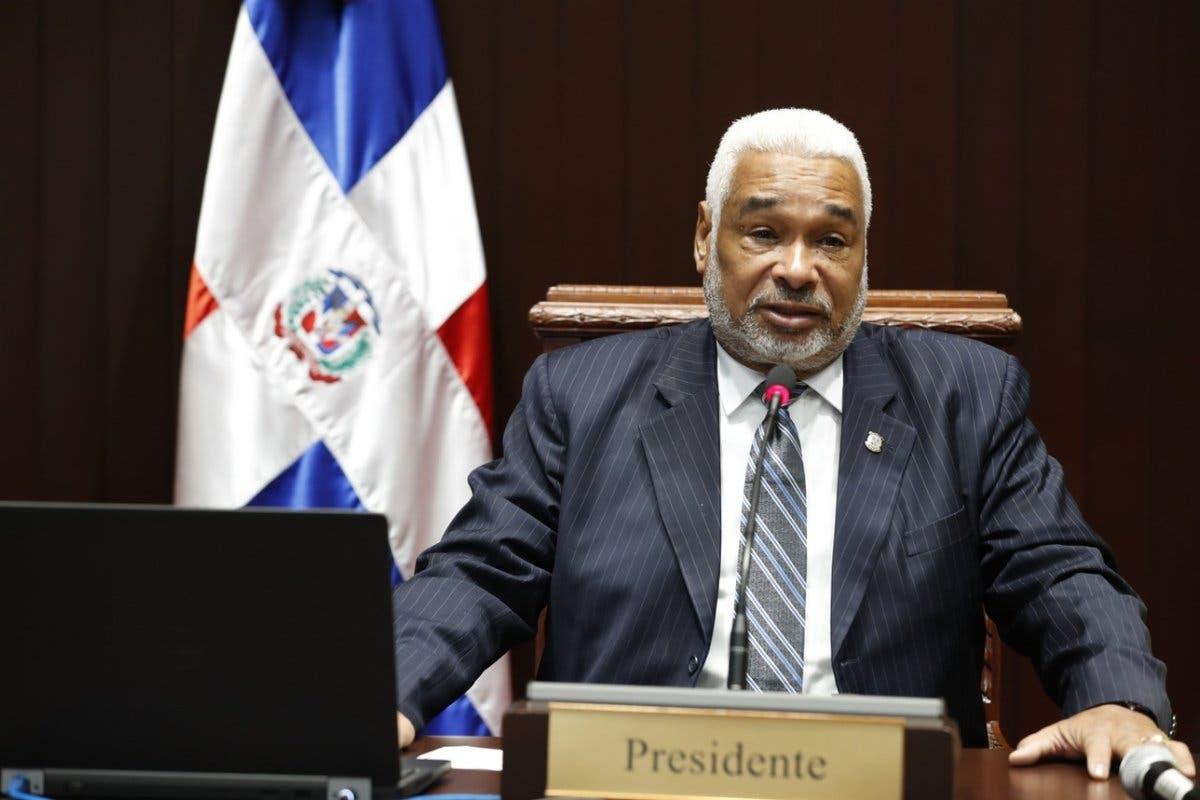 Radhamés Camacho, presidente de la Cámara de Diputados.