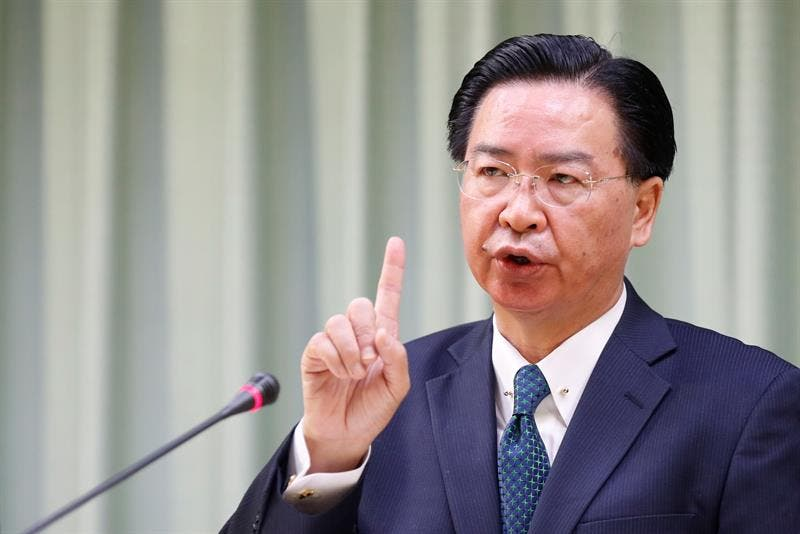 Ministro de Asuntos Exteriores taiwanés, Joseph Wu.