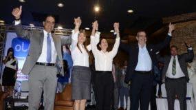 Abinader participó  en una asamblea nacional de dirigentes de la Organización Luis Abinader (Ola) sector externo. José de León