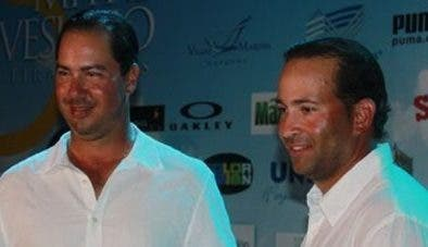 Hiram Silfa y Marcel Olivares. Archivo