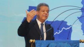 Expresidente Leonel Fernández. Foto: Nicolás Monegro.