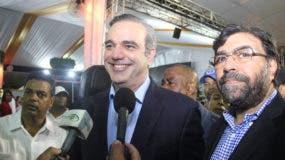 Luis Abinader, aspirante presidencial por el PRM para las elecciones del 2020.