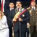 """""""Nos salvó un milagro, volvimos a nacer el 4 de agosto"""", dijo Nicolás Maduro."""
