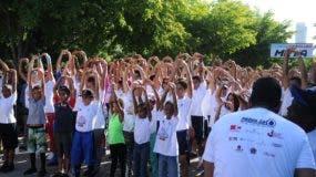 El objetivo del maratón es fomentar la integración de la familia y cuidar la salud física.