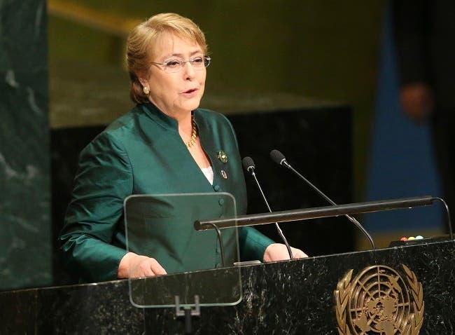 Michelle Bachelet. Foto de archivo.