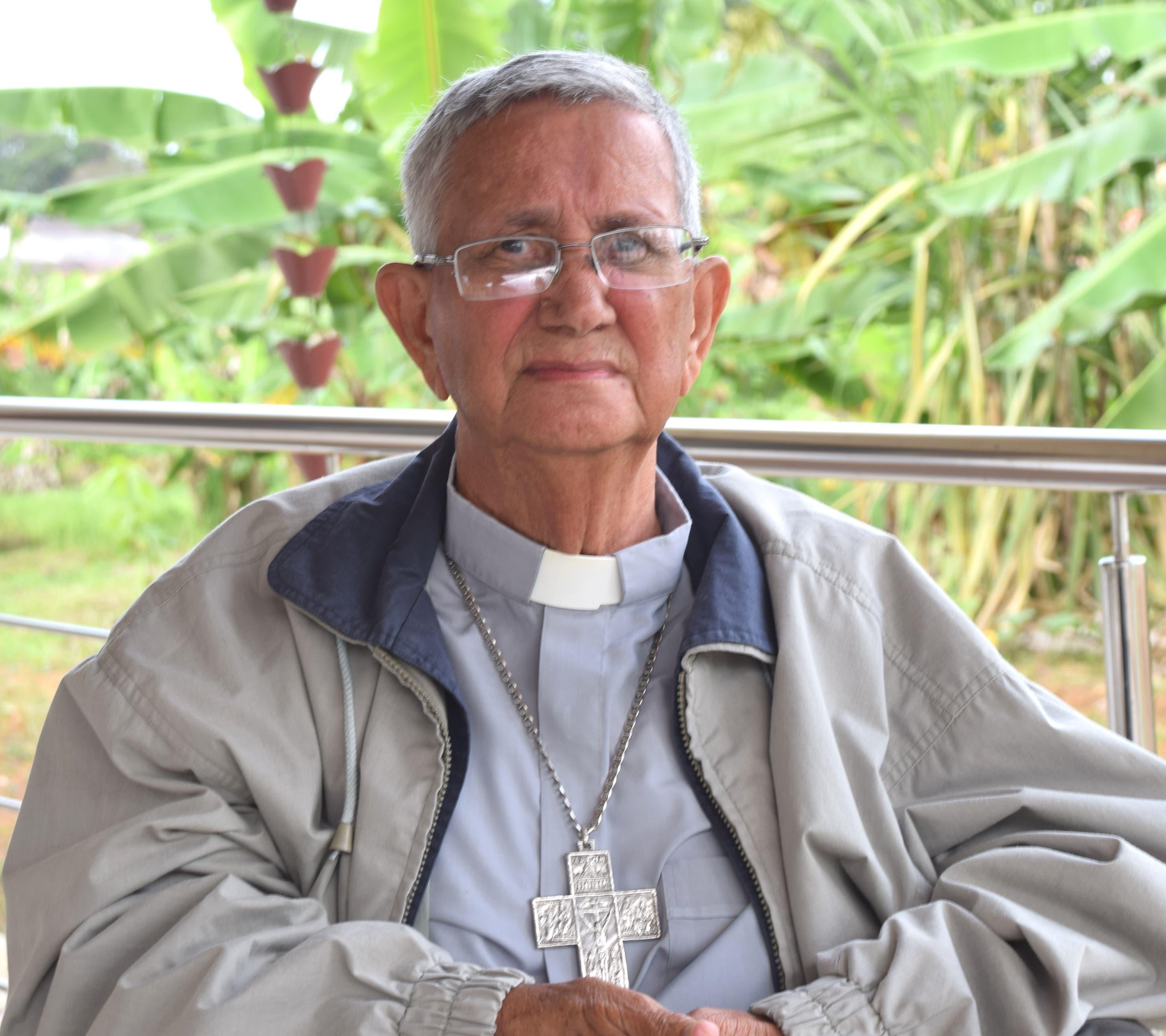 Mamerto Rivas fue el primer obispo de la Diocesis de Barahona.