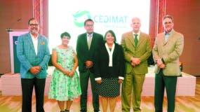 Alejandro Jovine, Rosalía Cuello, César Herrera, Milagros Ureña, Jorge Marte y Luis Betances.