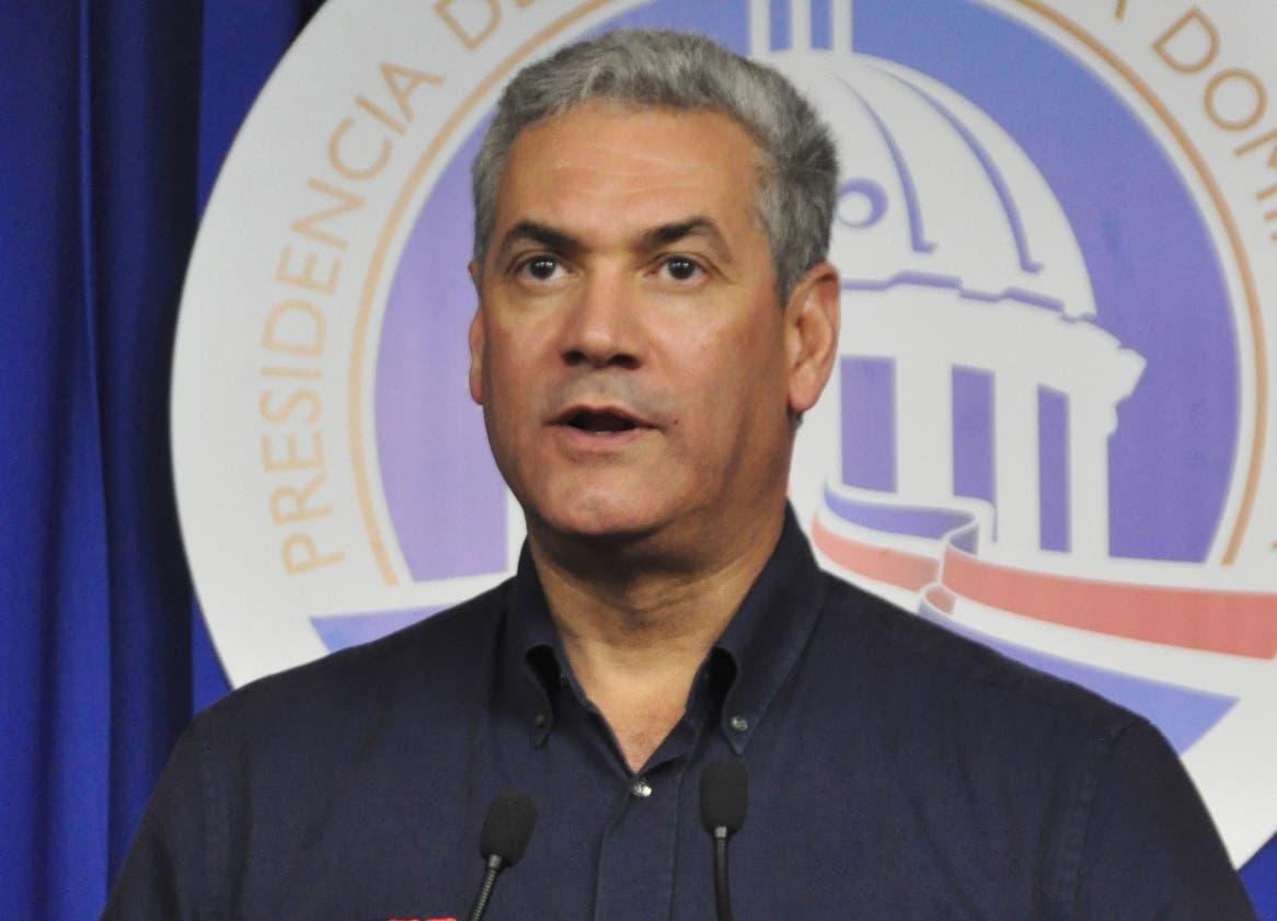 Gonzalo Castillo, ministro de Obras Públicas.  archivo