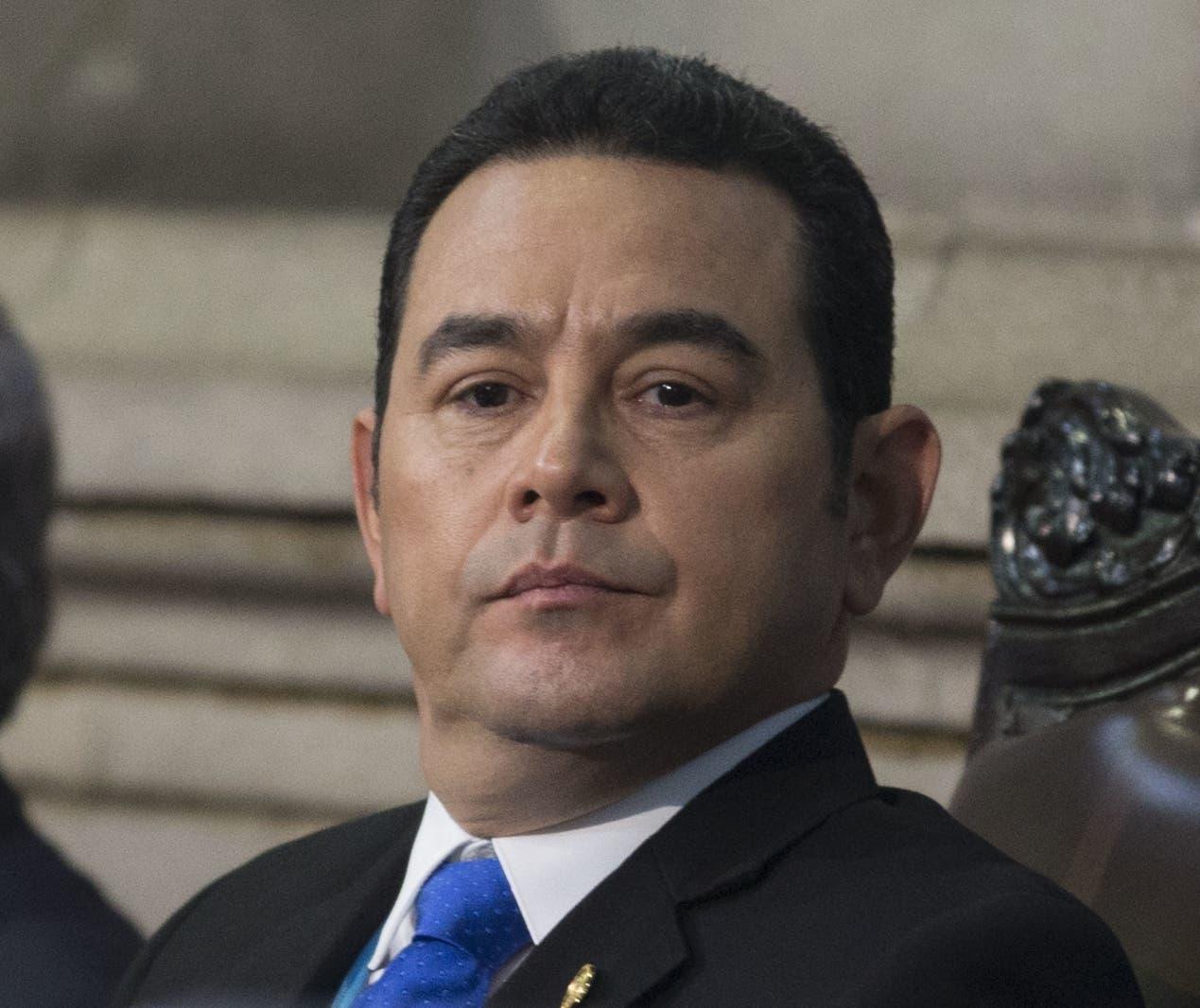 Jimmy Morales se enfrenta a un congreso opositor.
