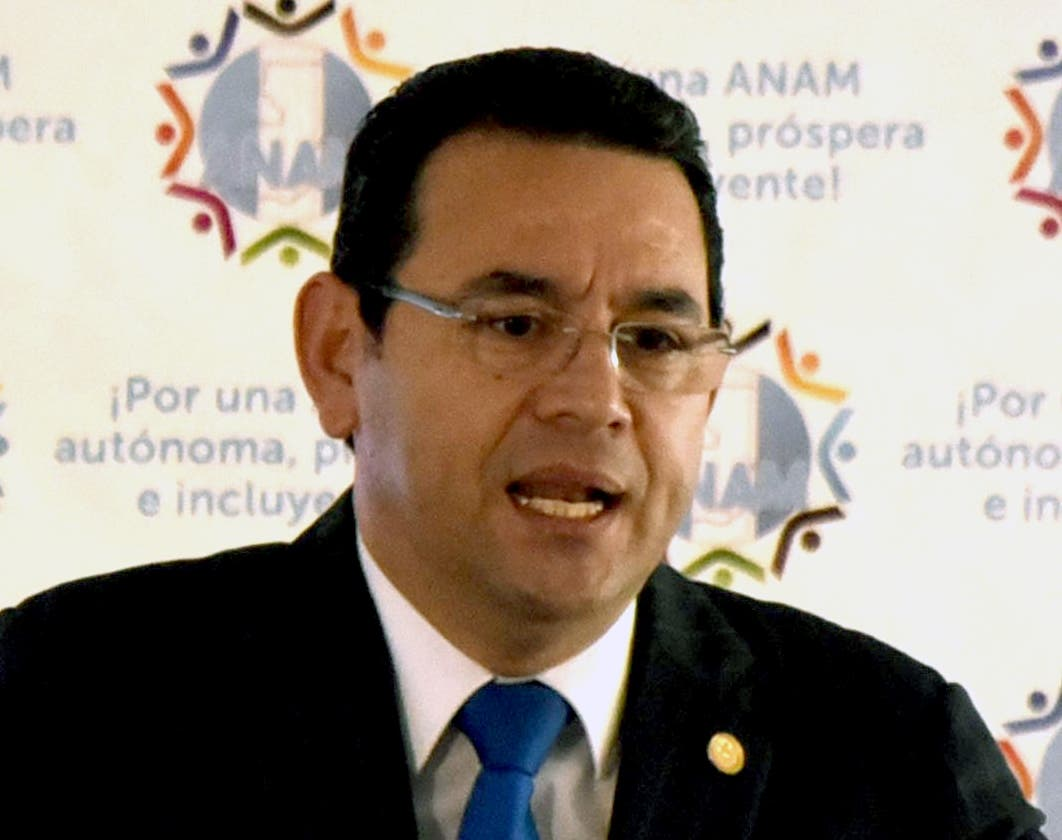 Presidente Jimmy Morales será investigado.