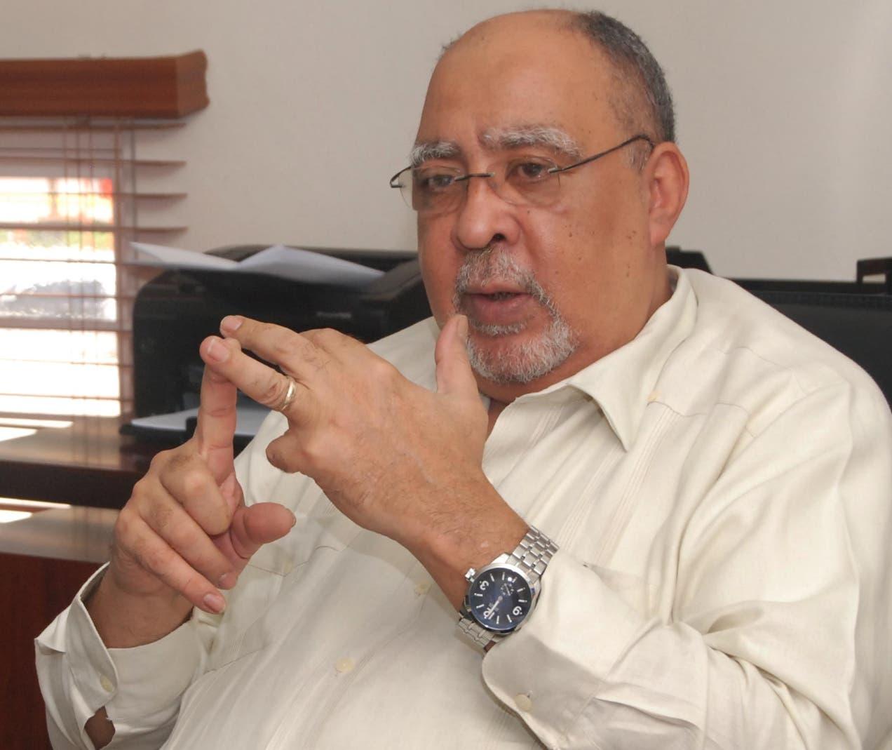 Julio Sánchez Maríñez, rector del ISFODOSU.