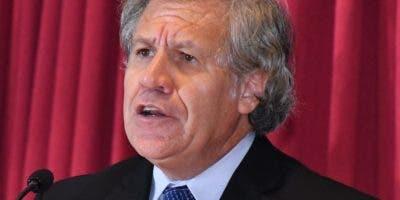 Luis Almagro, líder de la OEA, impulsa el plan.