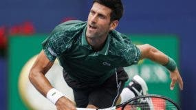 el serbio Novak Djokovic en la final del US Open.