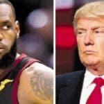 El baloncetista LeBron James y Donald Trump tienen una guerra de ataques abierta.  Ap