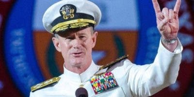 Almirante retirado de la Armada de EE.UU. William McRaven.