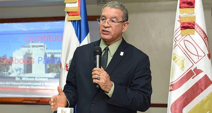 Wilson Gómez Ramírez reclama que  se ayude a Haití