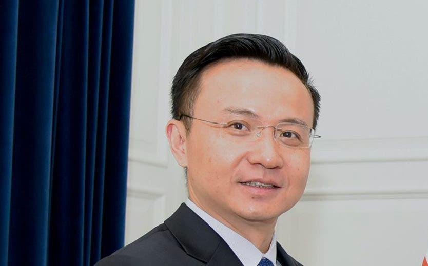 Zhang Run, embajador de China en el país.  fuente externa