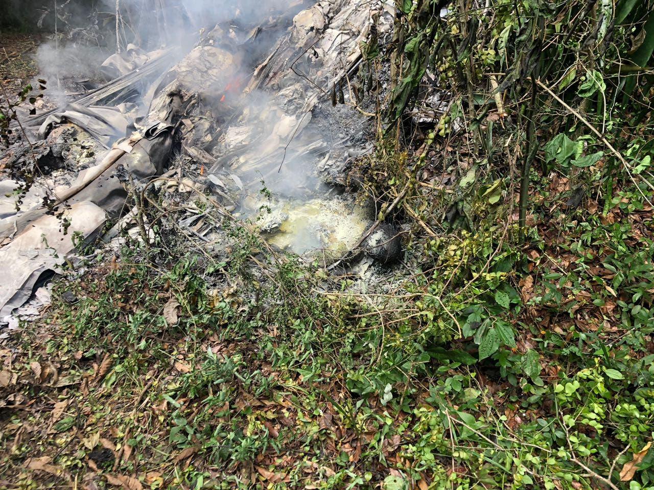 Image result for Aeronave accidentada en el que murió empresario y cardiologo en aeropuerto El Higuero