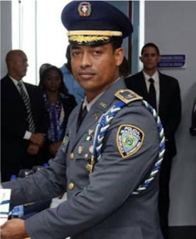 El teniente coronel Emilio Corsino Galván fue jefe de escolta del exjefe de la Policía, Enmanuel Castro Castillo.