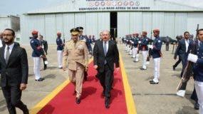Danilo Medina asistirá a la ceremonia de transmisión de mando de su homólogo, Iván Duque Márquez.