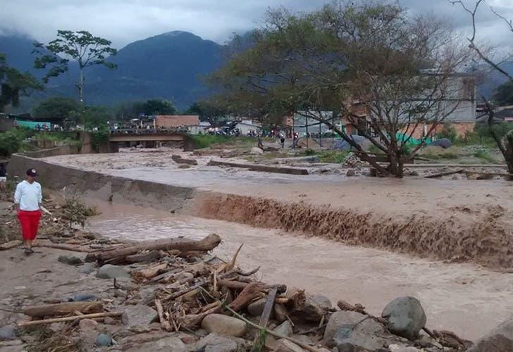 Al menos 54.000 personas han resultado afectadas en Colombia por las lluvias.
