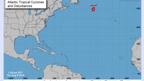 En la actual temporada de huracanes en el Atlántico se han formado tres tormentas tropicales, de las cuales Beryl y Chris se convirtieron en huracán de categoría 1 y 2.