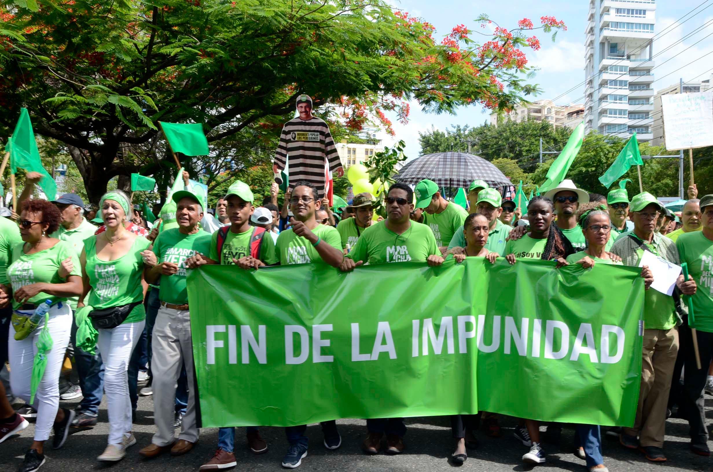 Marcha del Millón.  José de León. Foto de archivo.