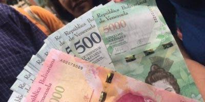 Los billetes de la unidad monetaria actual con denominaciones inferiores a 1.000 bolívares.