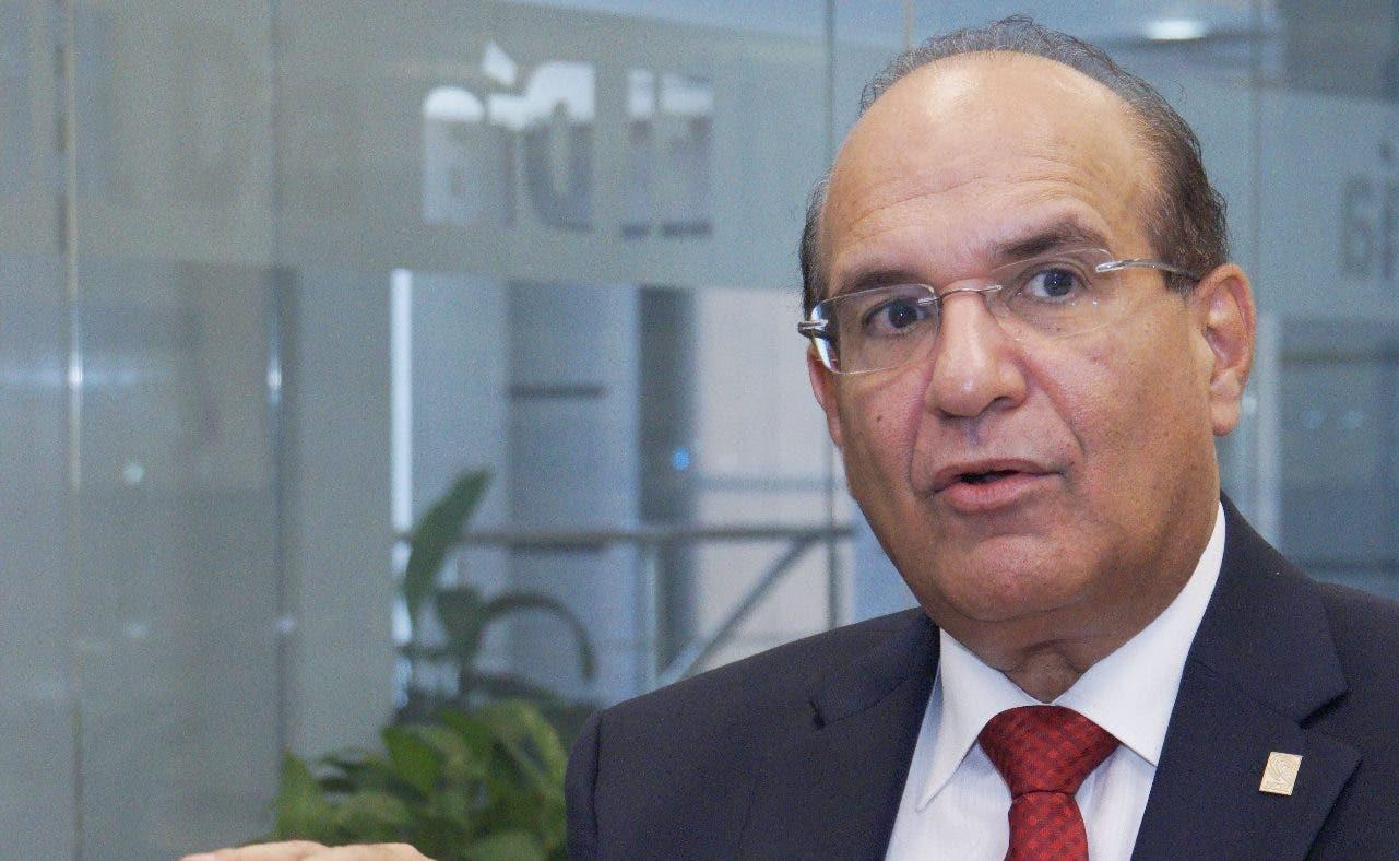 Julio César Castaños Guzmán dice inician diálogo con Gobierno sobre recursos para primarias