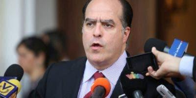Líder opositor venezolano Julio Borges.