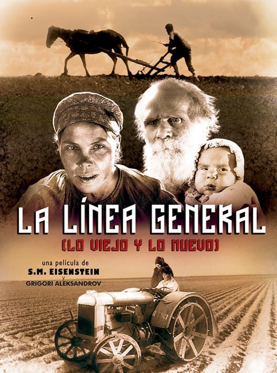 La Línea General  es una interesante propuesta fílmica de Eisenstein que escandalizó en su momento al Josep Stalin.