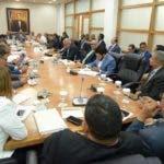 La reunión inició a las 10:00 de la mañana. Foto: Degnis De León