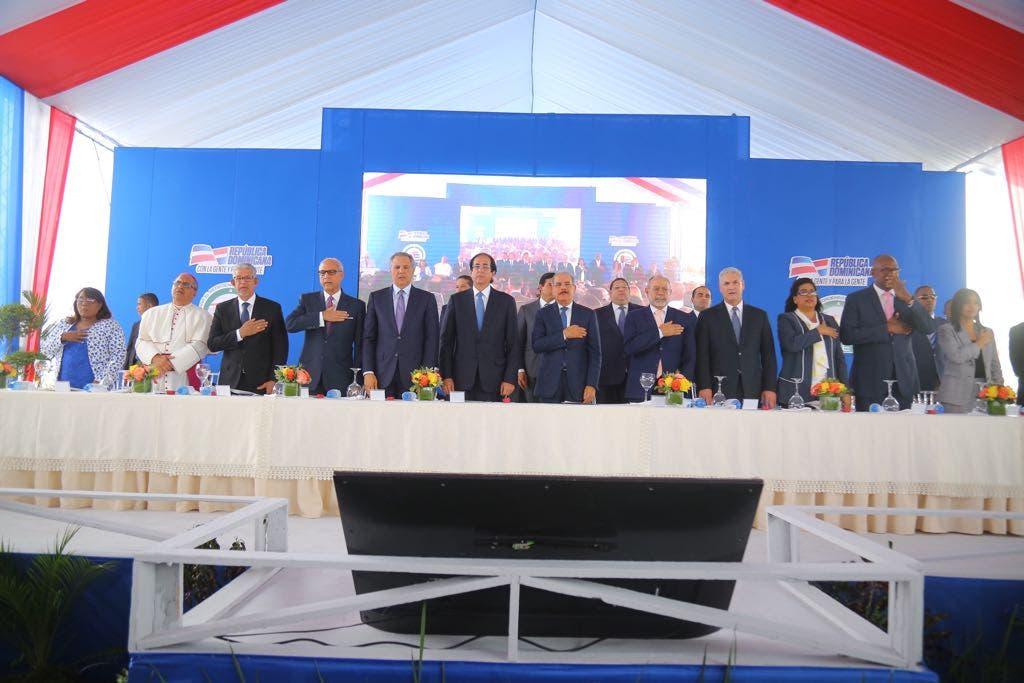 Presidente Danilo Medina encabeza inauguración de la Línea 2B del Metro