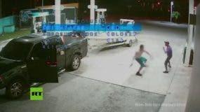 El incidente, que terminó en homicidio, se produjo en una estación de gasolina.