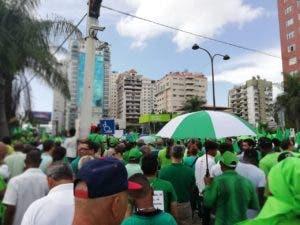 La marcha arrancó desde las avenidas 27 de Febrero con Tirandentes.