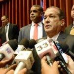 Reinaldo Pared Pérez, presidente del Senado, dijo que examinarán las modificaciones introducidas al proyecto por la Cámara de Diputados.