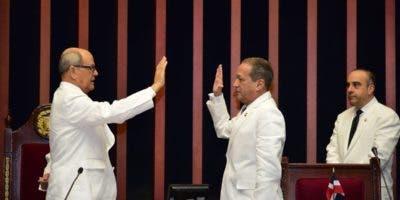 Reinaldo Pared Pérez fue ratificado en el cargo