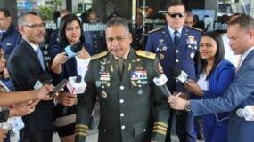 Rubén Darío Paulino Sem, ministro de Defensa.