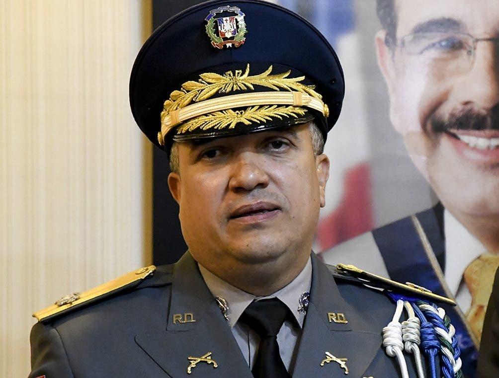 Ney Aldrin  Bautista Almonte, director de la Policía.