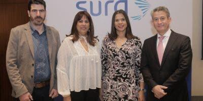Gabriel Alzate Tobon, Arelis Polanco, Gina Jiménez y James García.