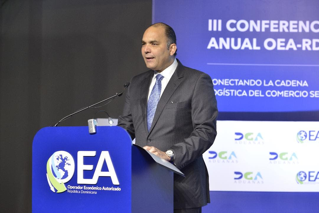 Director General de Aduanas, Enrique Ramírez Paniagua.