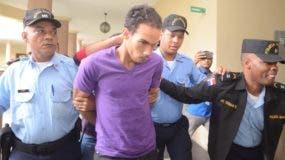 Víctor Alexander Portorreal Mendoza está en prisión. ARCHIVO