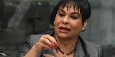 Celeste Silié dijo ahora hay mayor control sobre ONG  .  Alberto calvo